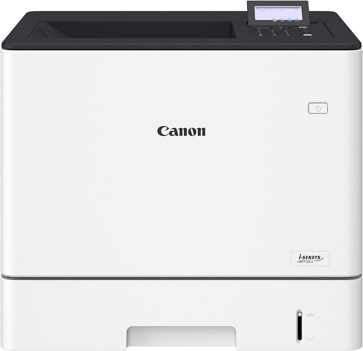 Impresora láser color Canon i-SENSYS LBP712Cx Blanca Wifi: Canon ...