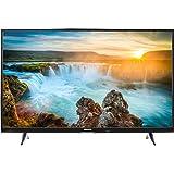MEDION LIFE X17032 MD 31206 108 cm (43 Zoll Ultra HD) Fernseher (Smart-TV mit LED-Backlight, 4K, HD Triple Tuner, DVB-T2 HD, HDMI, CI+, USB, Bluetooth, PVR) schwarz