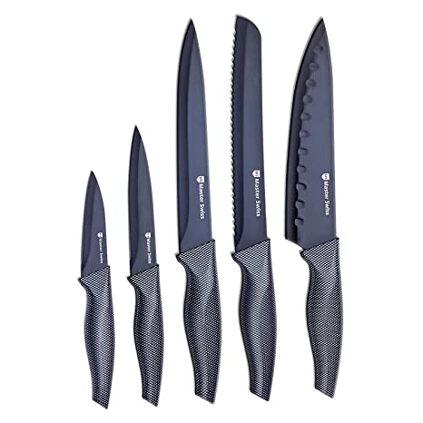 Compra Master Swiss Chef Essential 5 Piece Knife Set in ...