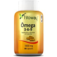 Omega 3-6-9, Fitoway, 60 Cápsulas