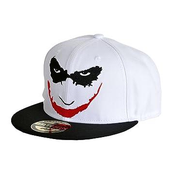 03b79b931 Batman Joker Men's Snapback CAP-Joke Is You On Baseball CAP White