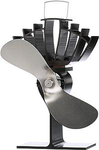CAFRAMO Wood Stove Fan, Medium