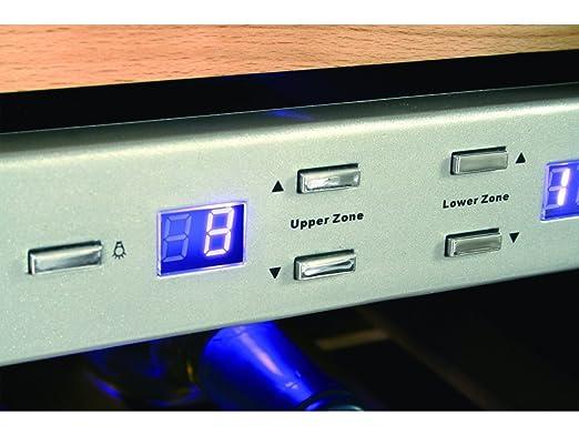 Mini Kühlschrank Mit Cd Player : Caso profi weinkühlschrank für 21 flaschen 2 temperaturzonen 7 18