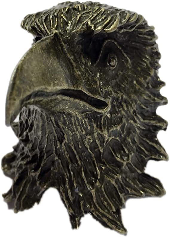Boy Scout Neckerchief Slide Eagle Metal Woggle Item No.WK91