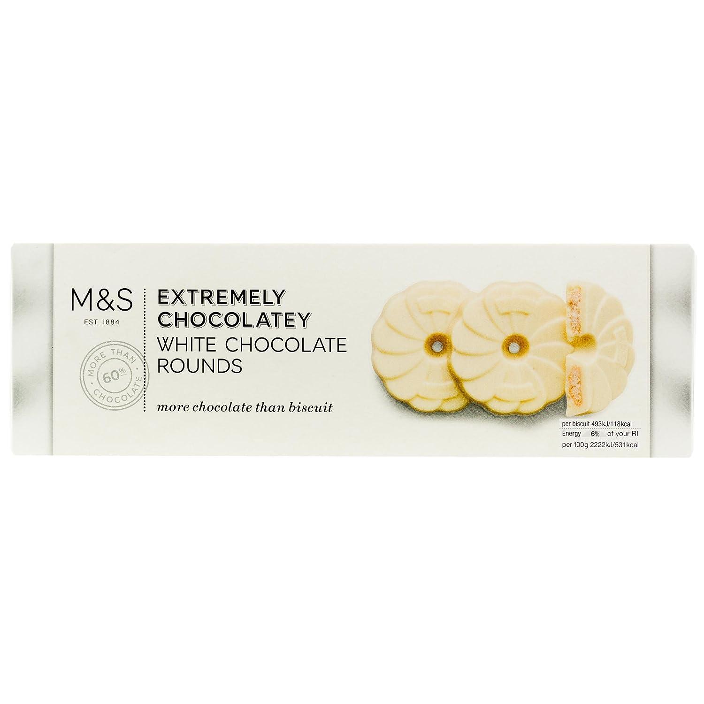 Amazon.com: Marks & Spencer Extremely Chocolatey White Chocolate ...
