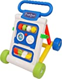 Goyal's My First Step Baby Activity Walker White - Toddler Learning Toys for 6 Months -15 Months Old