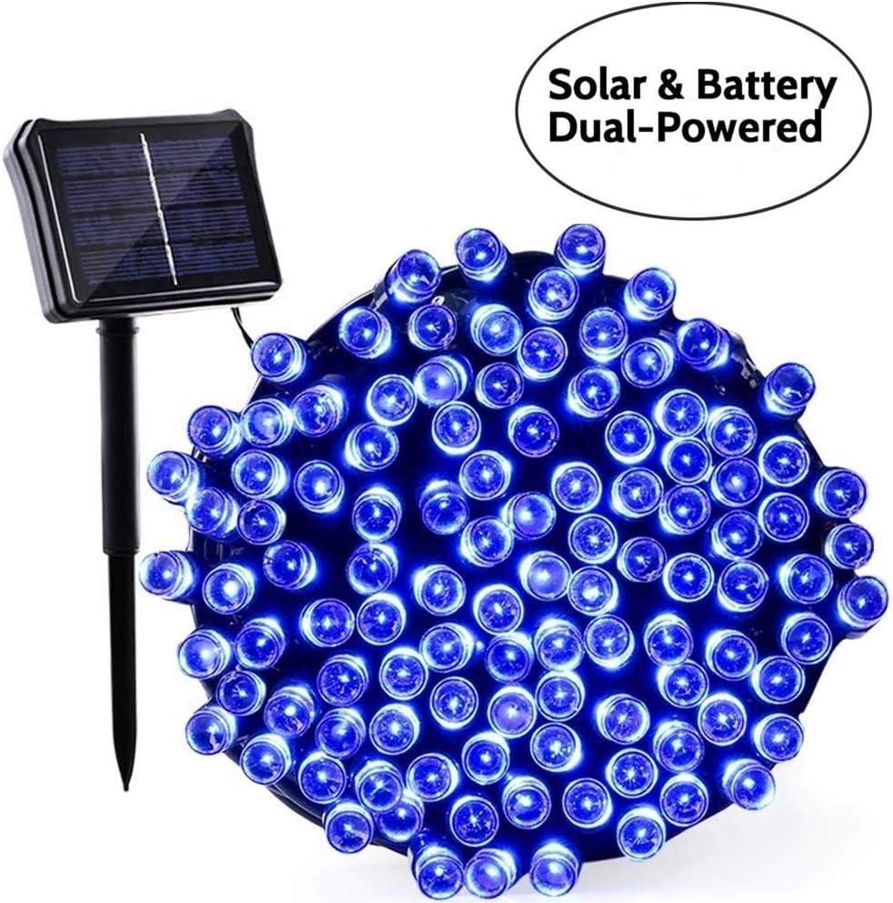 Qedertek - Guirnalda de luces solar y batería: Amazon.es: Iluminación