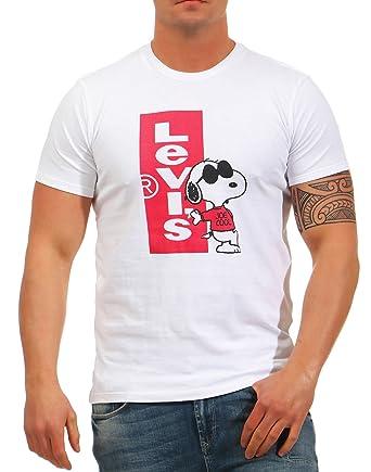 selección premium patrones de moda cómo hacer pedidos Levi's Camiseta Levis SETIN Neck White TL