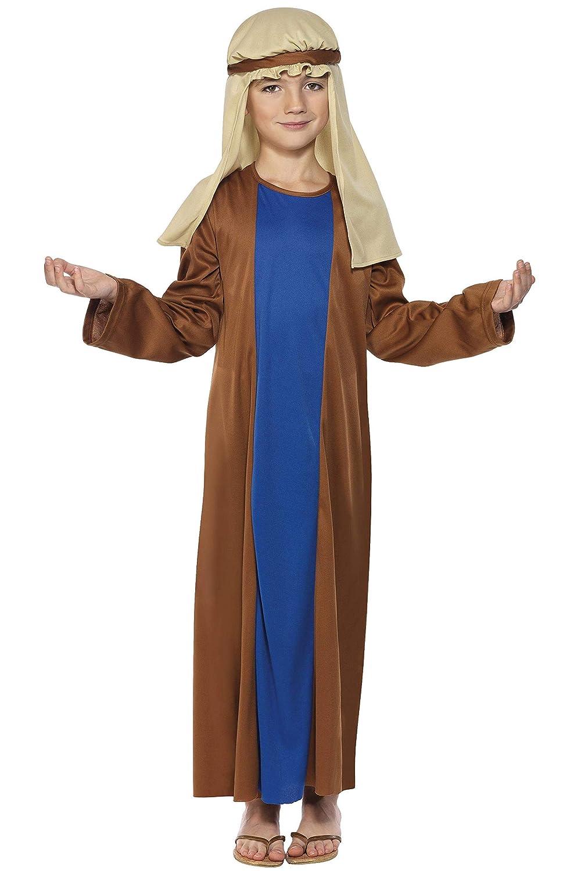 Smiffys 31287S Déguisement Enfant Joseph, Marron, Taille S Déguisements pour adultes