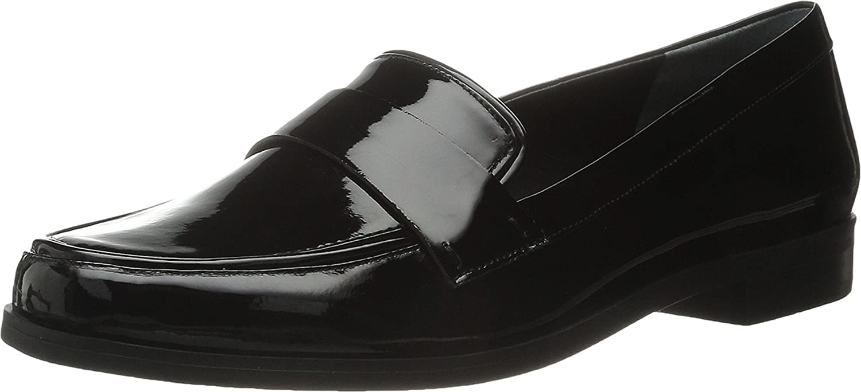 643a10c1057 hot sale Franco Sarto Women s Valera Black Patent Loafer 11 N ...