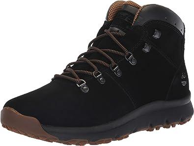 Grifo viudo regla  Timberland World Hiker Mid Botas de tobillo para hombre, negro (Negro  GamuzaBlack Suede)), 44.5 EU: Amazon.es: Zapatos y complementos