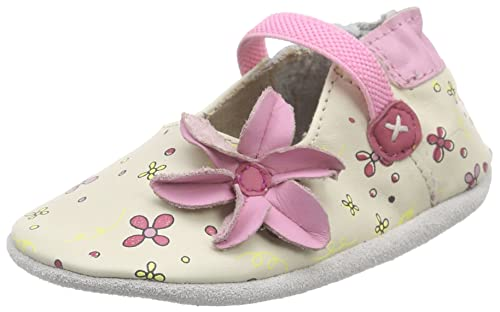 f4e7a3bb87 Robeez Flower Power, Chaussures de Naissance Bébé Fille