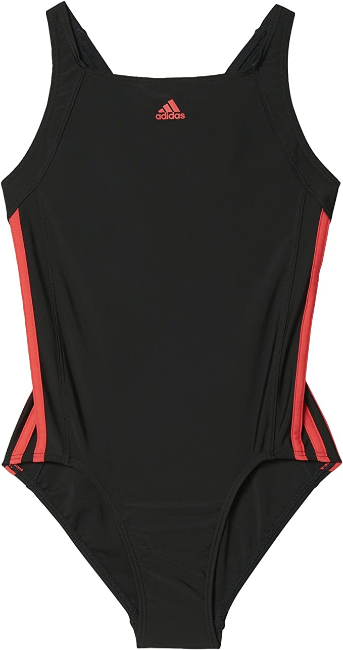 Adidas Infinitex Athletic Badeanzug schwarz pink Damen Sport