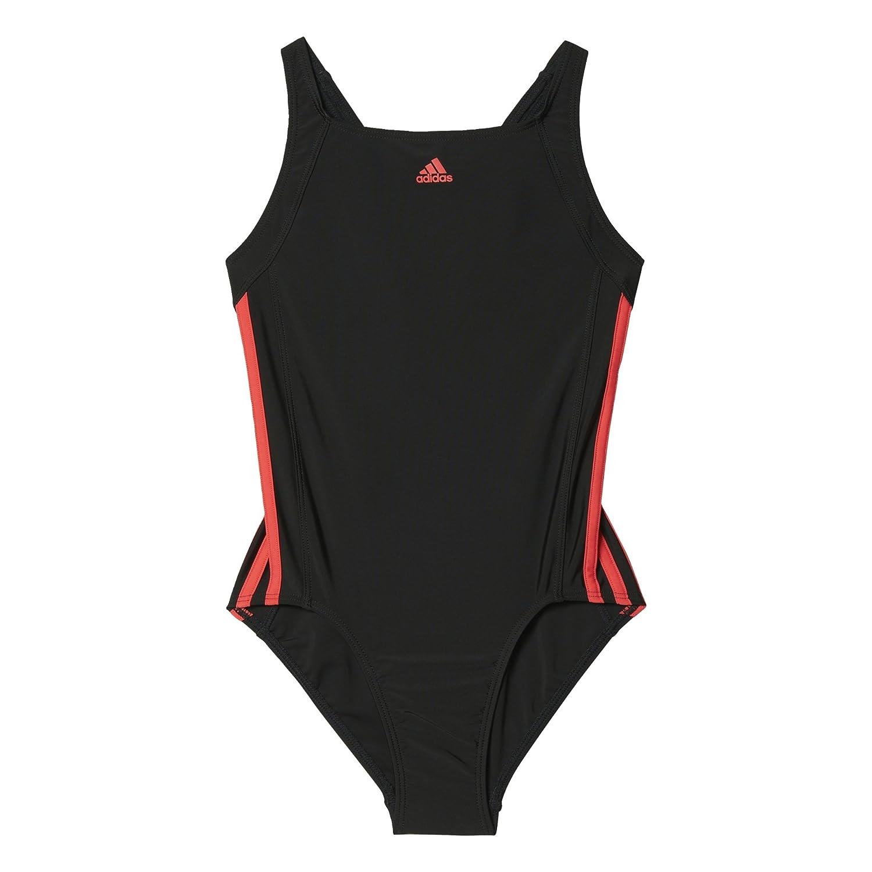 adidas Girls' Essence Core 3-Stripes Swimsuit BP5449