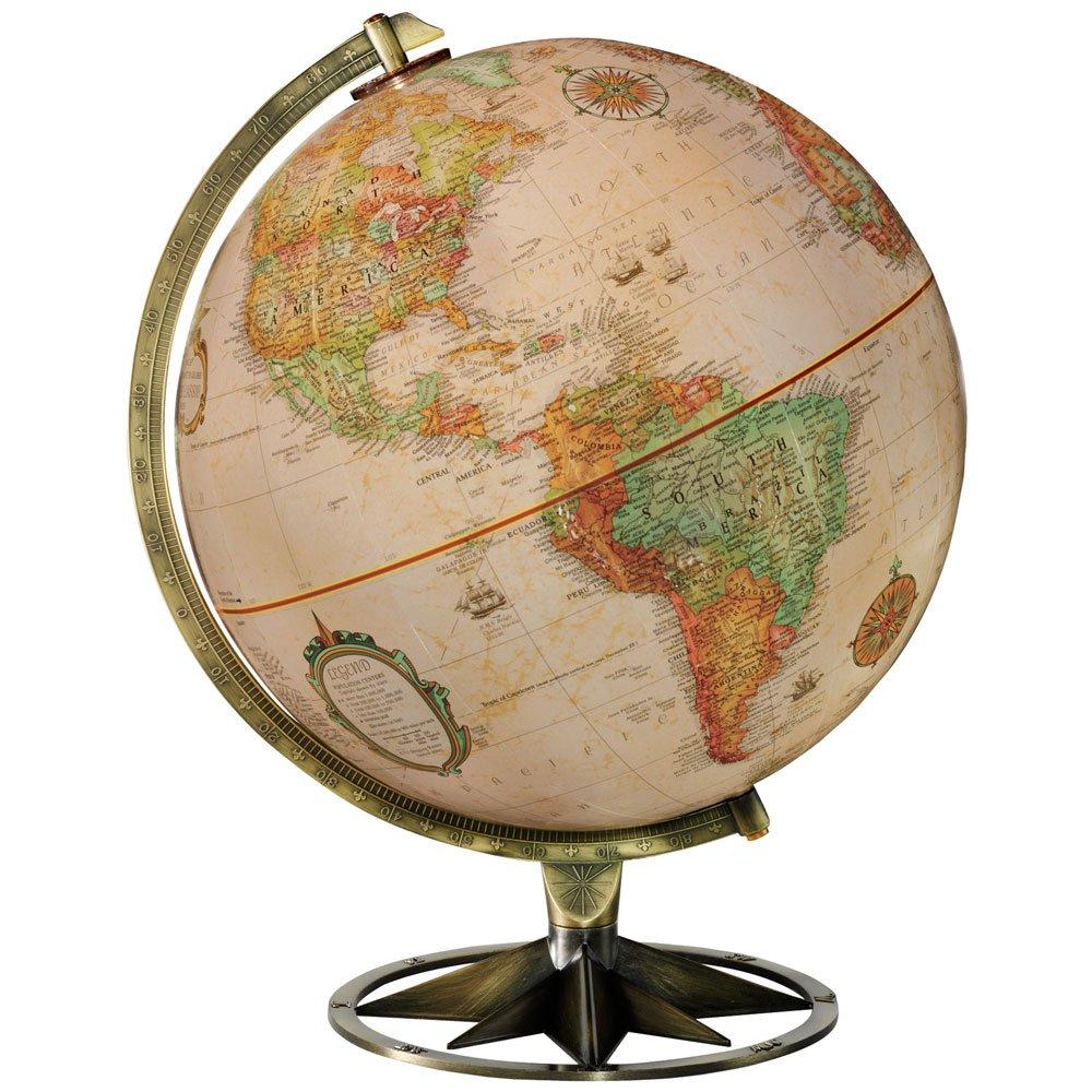 Replogle Compass Rose 12 in. Tabletop Globe