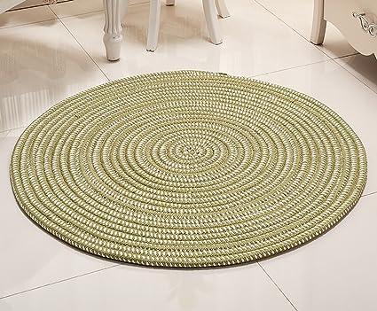 JHDT IL tappeto Circolare Superfine corda Computer maglia Chair ...