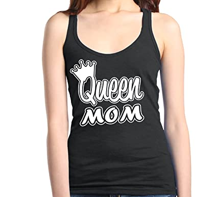 9b94b6c664a5a Mom s Favorite Queen Mom Women s Racerback Tank Top Mother s Day Tank Tops