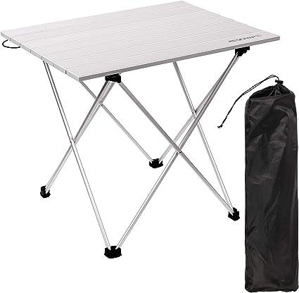 REDCAMP Camping Tisch Klappbar, Faltbar Aluminium