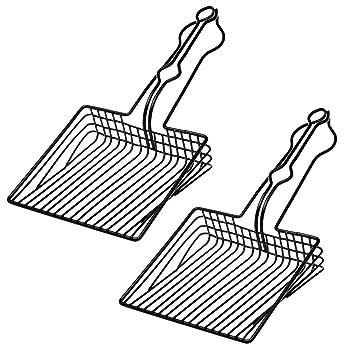 Amazon.com: BasicForm - Cuchara para arena de gato de acero ...
