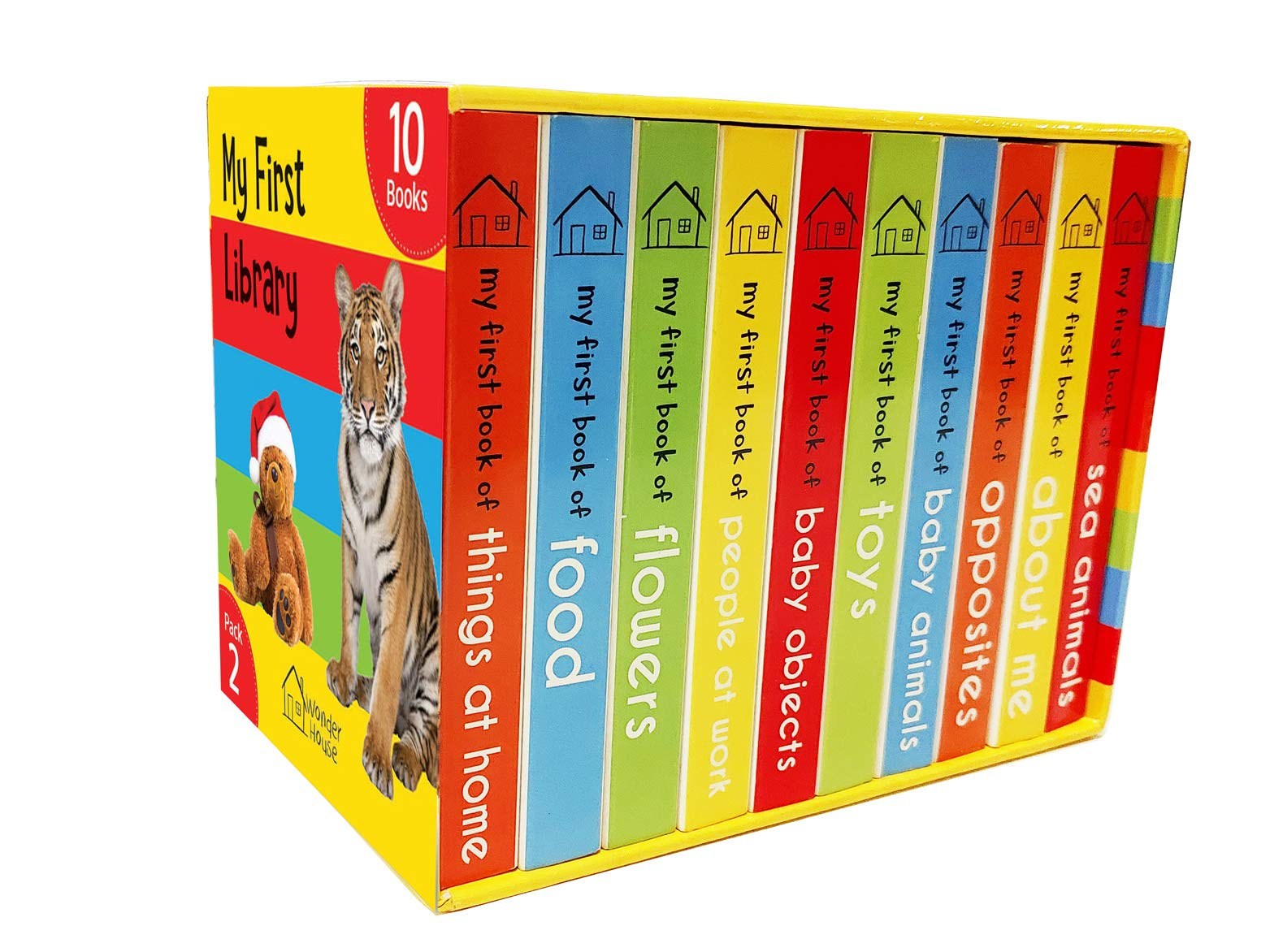 My First Library Pack 2: Boxset of 10 Board Books For Kids Board book – 3 Jan 2019