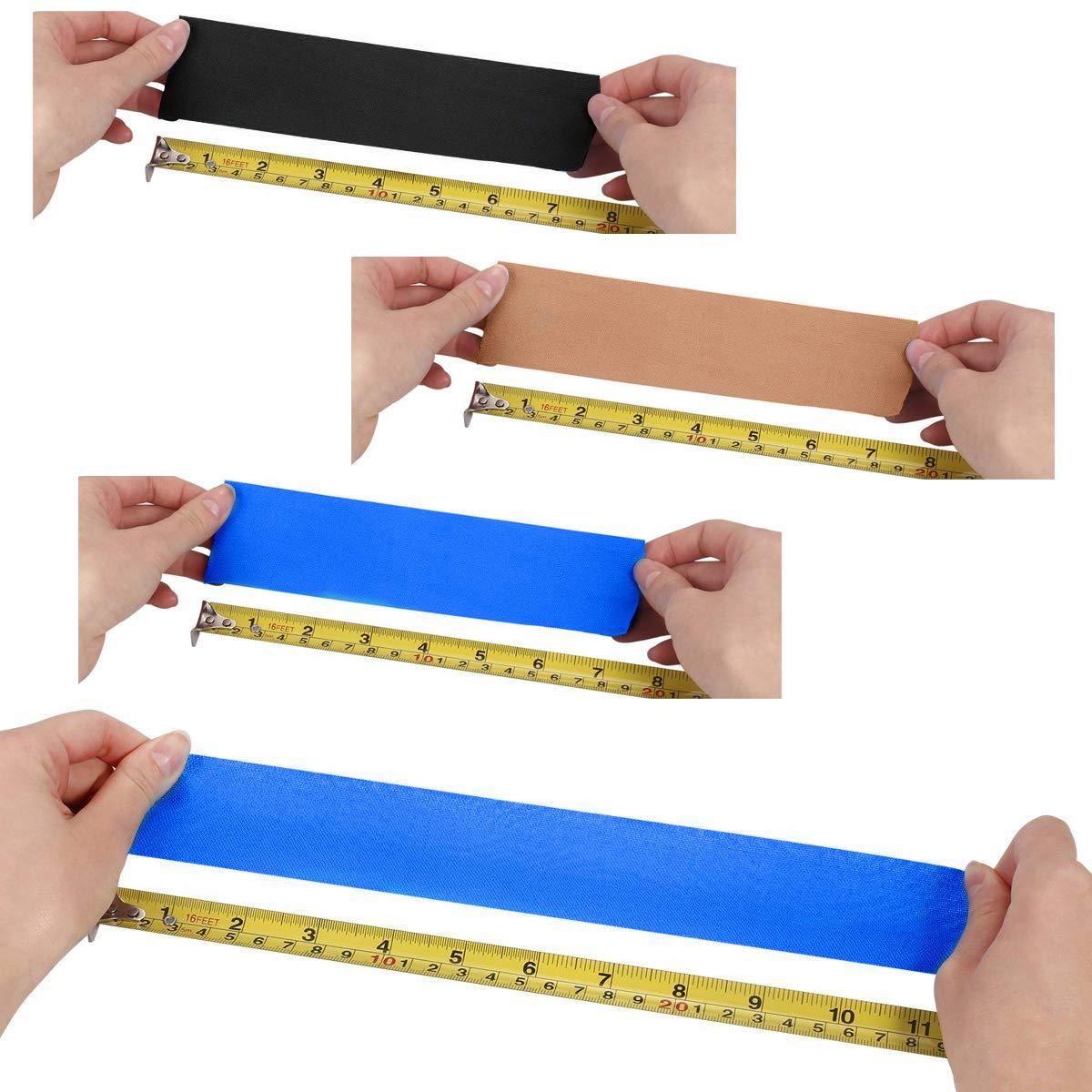 Physio Tape Kinesiologie Tape 5m x 5cm, Muskeln Kinesiology sport vorgeschnitten, Rollenlänge Elastisches Therapeutisches sport verletzungen Tape Elastische Bandage für Plantarfasziitis Physiotherapie