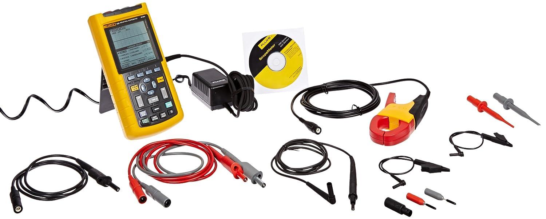 Fluke 125/003 Digital Industrial ScopeMeter, 40 MHz Bandwidth, 8.75ns Rise Time FLUKE-125/003 125003