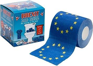 Rollo de papel higiénico Brexit.: Amazon.es: Salud y cuidado personal