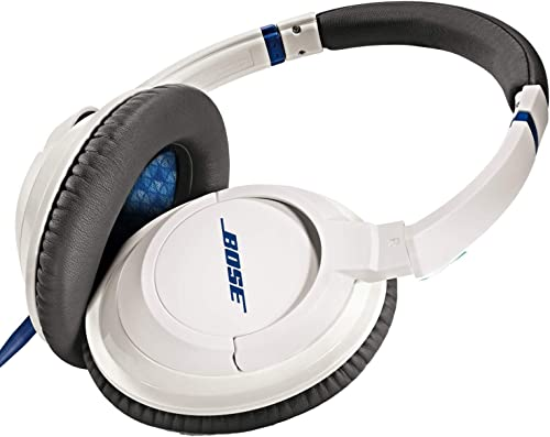 Bose SoundTrue Headphones Around-Ear Style, White Wired Discontinued by Manufacturer