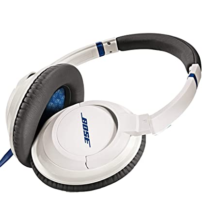 39c24f03b0d Amazon.com: Bose SoundTrue Headphones Around-Ear Style, White (Wired)  (Discontinued by Manufacturer): Home Audio & Theater