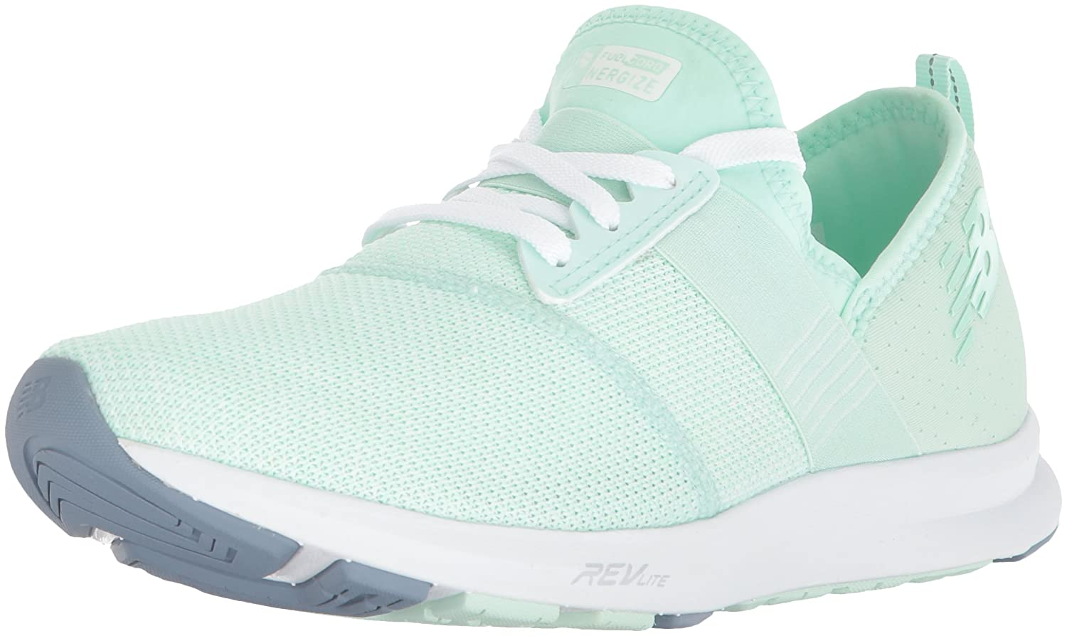 New Balance Women's FuelCore Nergize V1 Fuel Core Cross Trainer B0751QM4W2 8.5 D US|Seafoam/White
