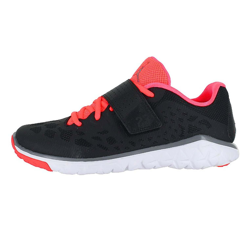 Jordan Youth Nike Flight Flex Trainer 2 Shoes-Black/Cool Grey-Hot Lava-4.5 by Jordan (Image #2)