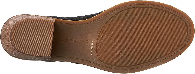 Lucky Brand Femmes Cuir Noir