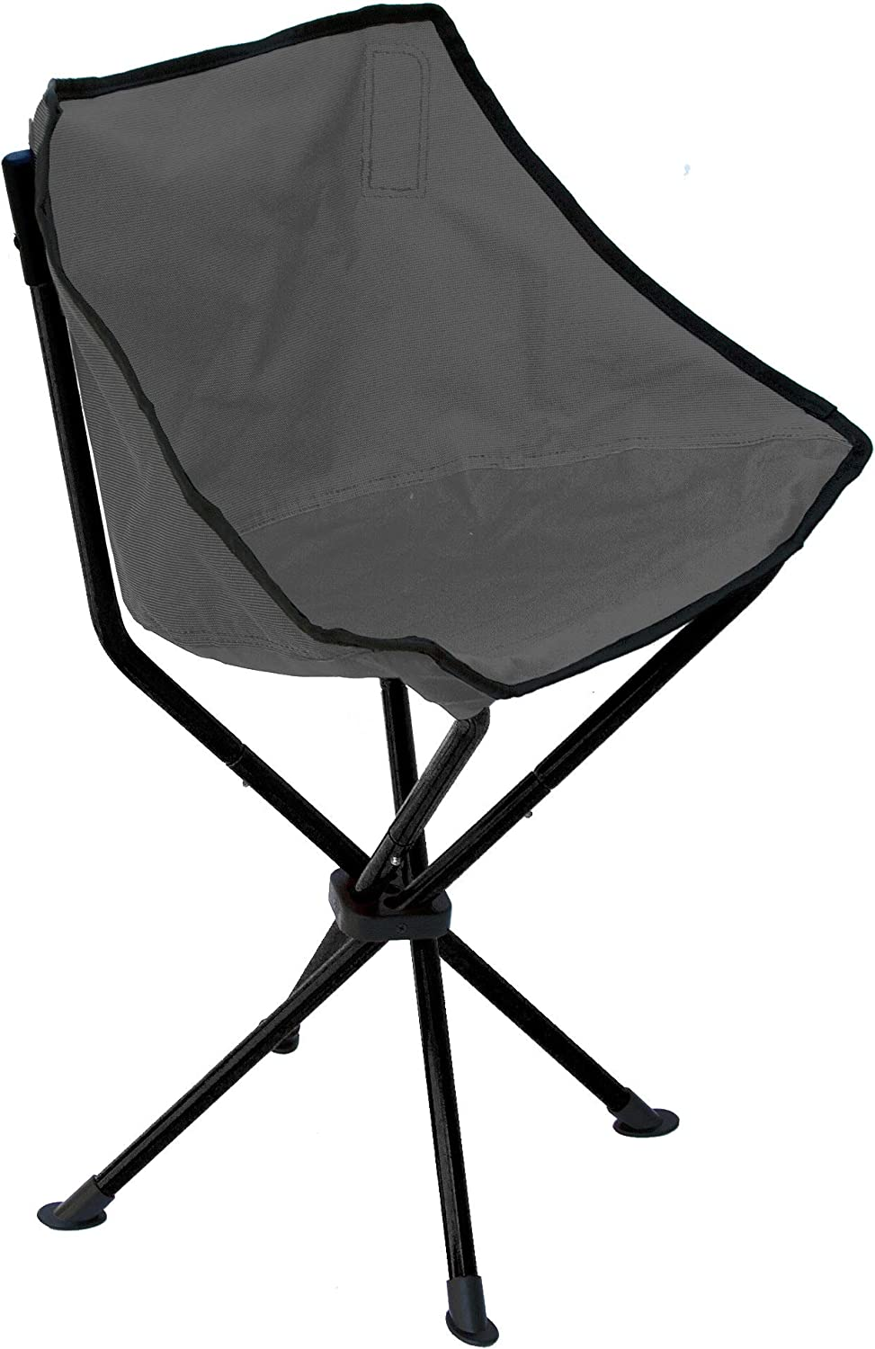 TravelChair Wombat Chair, Chair in a Stool, Black