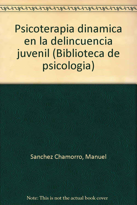 Psicoterapia dinámica en la delincuencia juvenil (Biblioteca de psicología) (Spanish Edition) (Spanish) Paperback – 1981