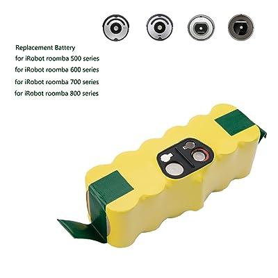 4500mAh pour iRobot Roomba 500, 600, 700et 800Series Batterie de remplacement pour horleora