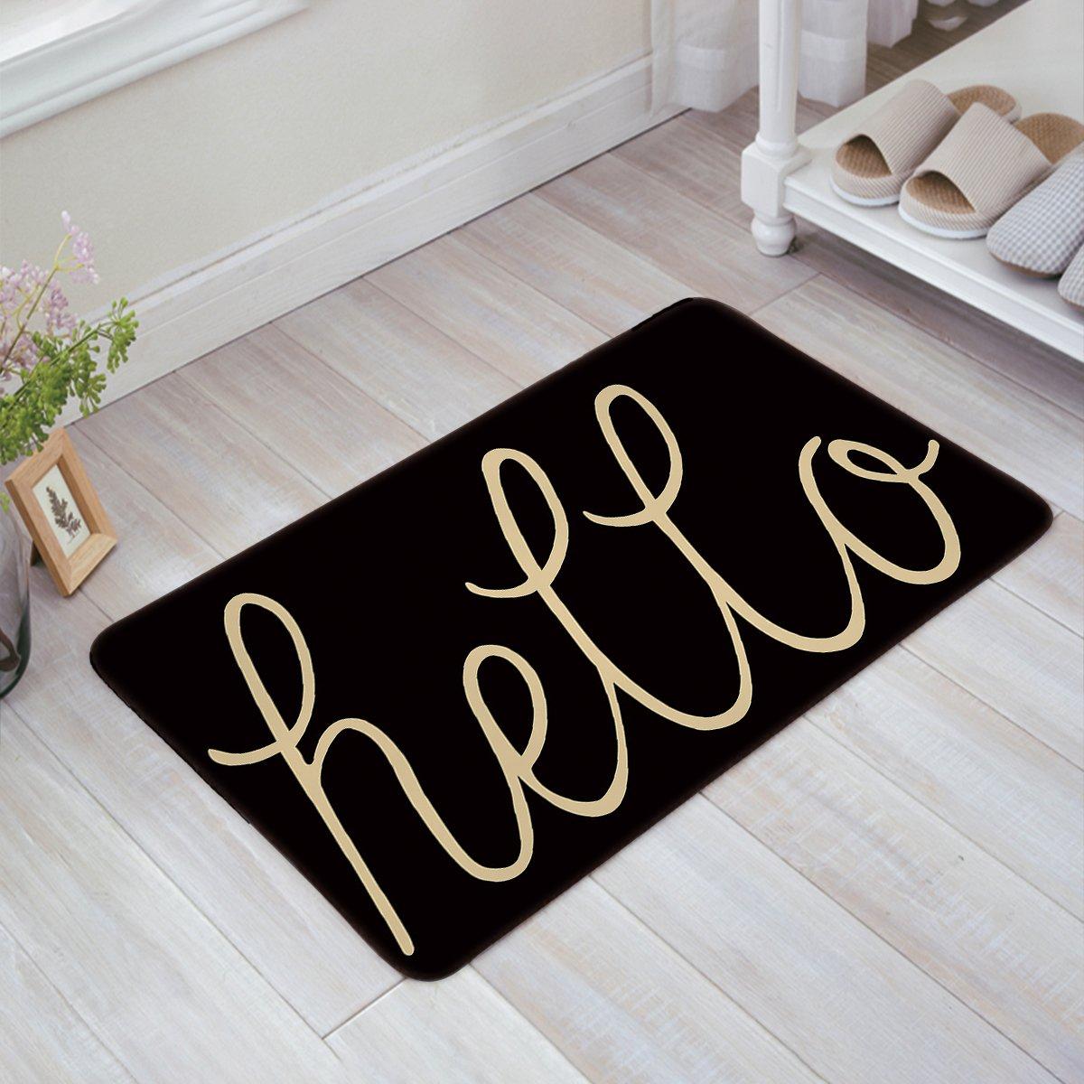You are My Sunshine Shoe Scrapper Indoor Outdoor Non Infinidesign Door Mat Slip Durable Rug for Floor 20 x 32