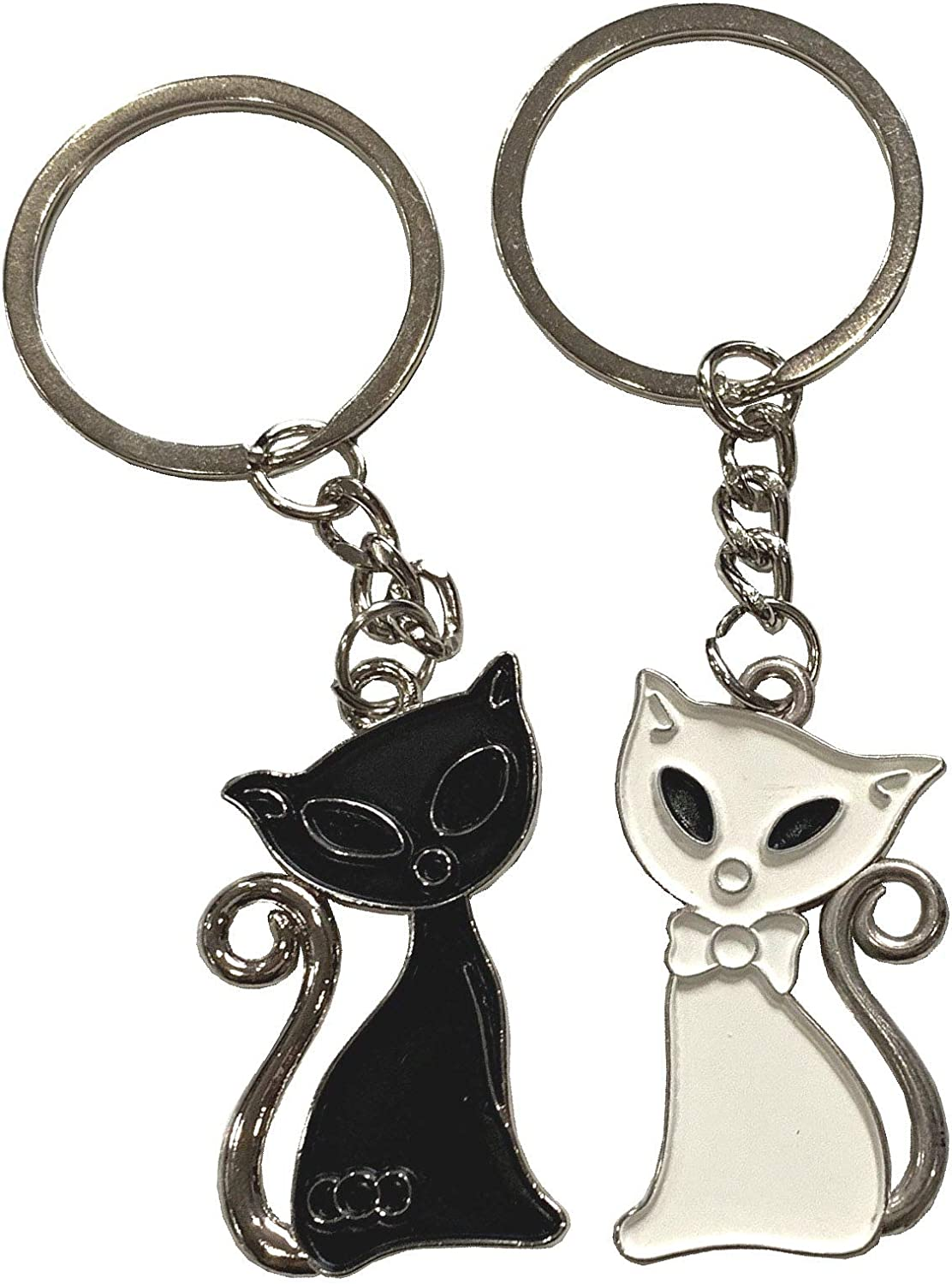 Thank You Cute Funny Keyring Gifts From The Cat Novelty Cat Mum Gifts Kitten