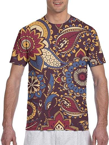 Colorido Persian Paisley Camisa de Trabajo para Hombres Tallas Regulares y Grandes y Altas: Amazon.es: Ropa y accesorios
