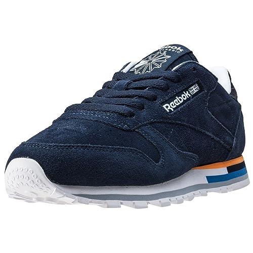 Reebok Mujeres Calzado / Zapatillas de deporte Classic Leather MH: Amazon.es: Zapatos y complementos