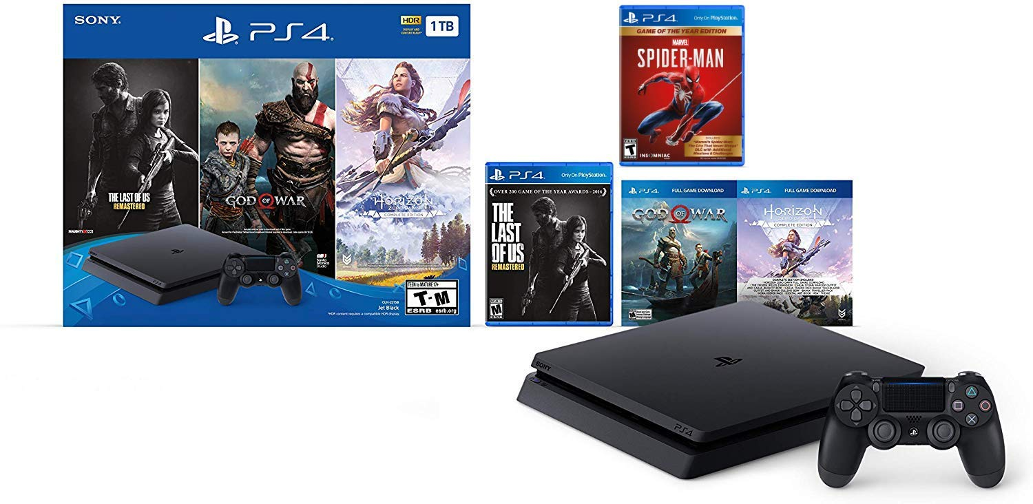 holiday-ultimate-bundle-playstation-4-1tb-slim-bonus-spiderman-game-of-the-year