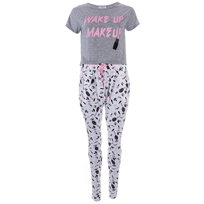 Brave Soul - Pijama - Recta - Animal Print - Clásico - para Mujer Gris Wakeup