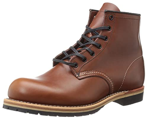 "Red Wing Shoes 6"" Beckman Round - Mocasines de cuero para hombre, color marrón"