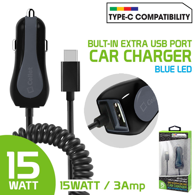 ZTE Axon 7 Mini Cellet 15 W/3 A, cable USB tipo C conector ...