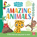 Chatterbox Baby: Amazing Animals: Fold-out tummy time book