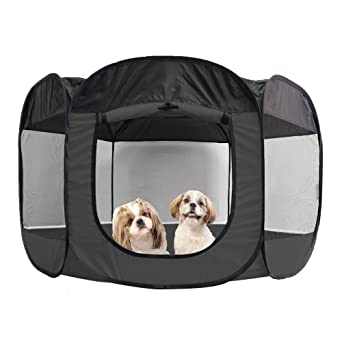 Puppy in The Wind Weekender Bag