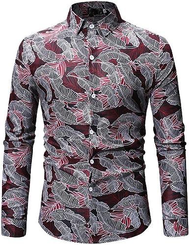 Bahoto Nuevo Patrón Geométrico Camisa De Hombre Camisa De ...
