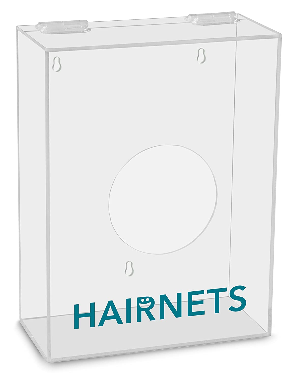 TrippNT 51308 Hairnets Labeled Small Apparel Dispenser, 9-Inch Width x 12-Inch Height x 4-Inch Depth
