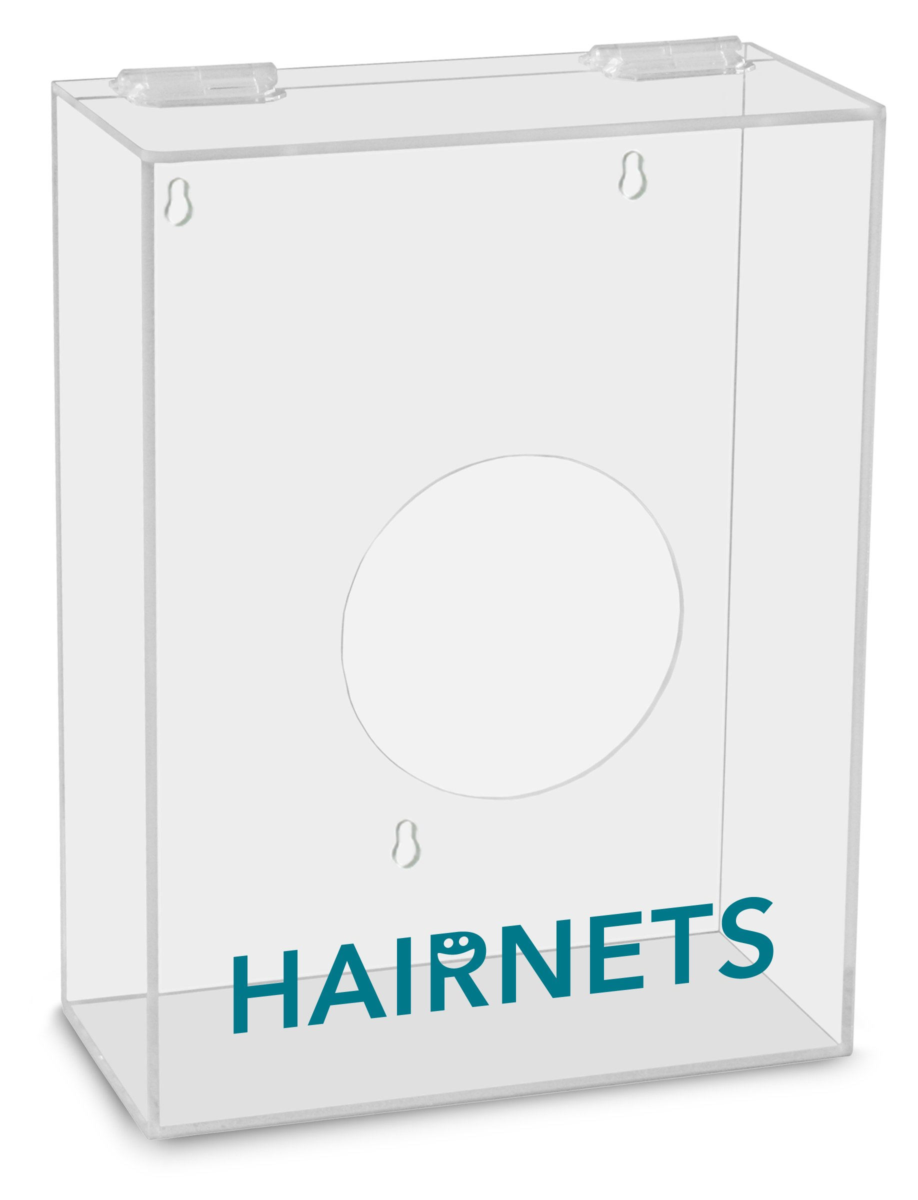 TrippNT 51308 Hairnets Labeled Small Apparel Dispenser, 9'' Width x 12'' Height x 4'' Depth