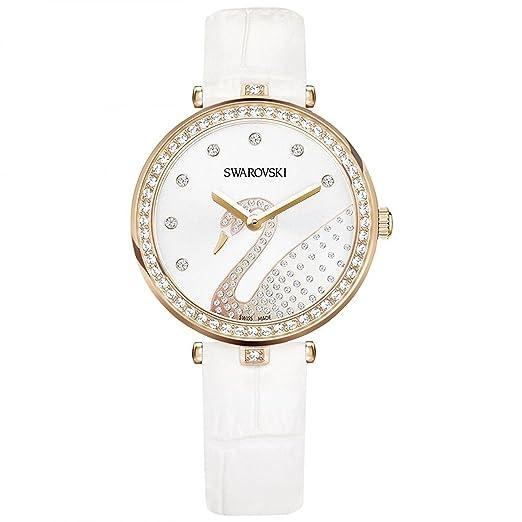 Swarovski Reloj de mujer cuarzo analógico caja de 5376639: Amazon.es: Relojes