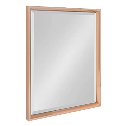 af2c3bd285b Amazon.com  Kate and Laurel Calter Framed Wall Mirror
